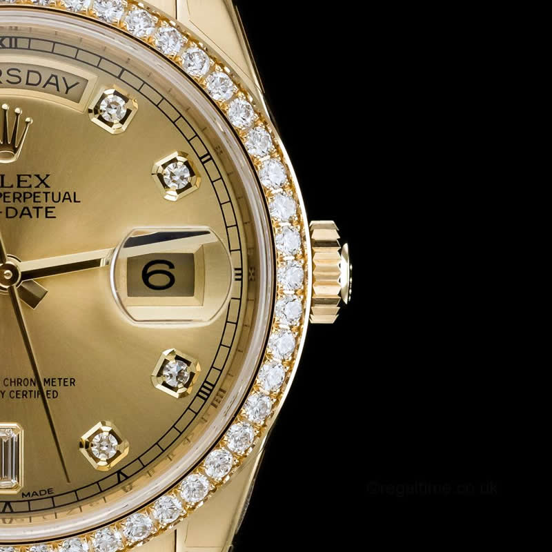 rolex daydate replica UK diamond